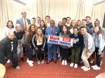 MRT at the College Democrats at USC meeting