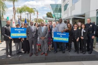 opening of Los Angeles County's new Office of Violence Prevention
