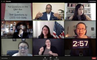 Debate screenshot